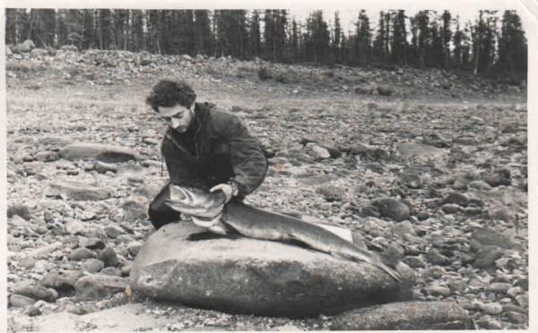 1960. Река Северная