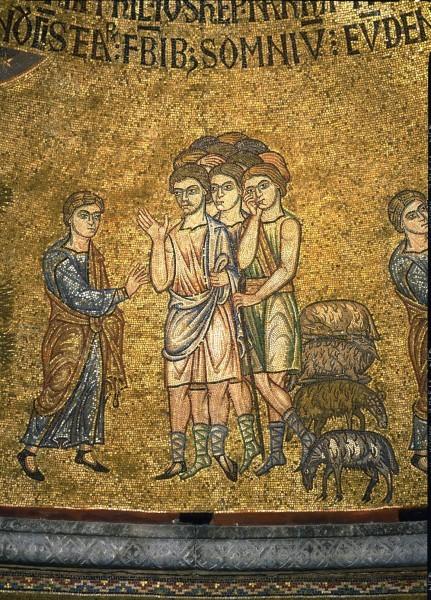 2.Иосиф рассказывает о своем сне братьям (Быт. 37. 5-8).
