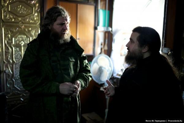 Настоятель храма отец Владимир