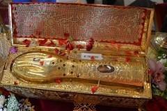 Обнародован график пребывания десницы святого Георгия Победоносца в России