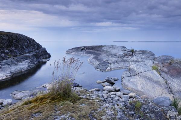 Колокольчиковая тишина Утренние сумерки на Ладожском озере Автор - Дмитрий Минин