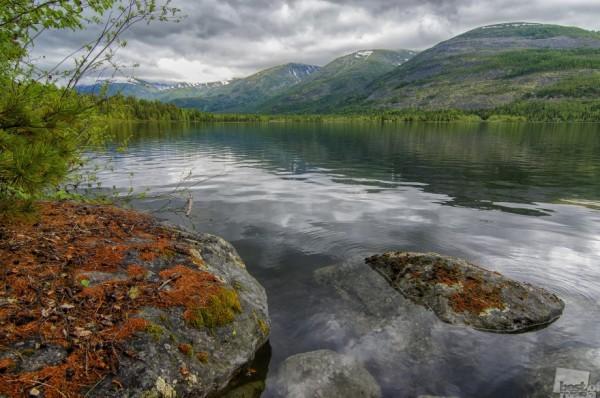 На Севере диком Озеро Фролиха - север Байкала Автор - Виктор Прокопенко