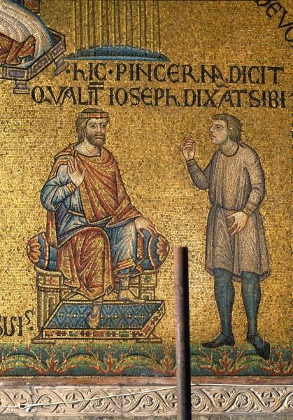 27.Виночерпий (царедворец) рассказывает фараону об Иосифе. (Быт. 41. 9 – 13).