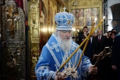 Патриарх Кирилл: В Царствие Божие входит только человек богатый, но не богатством на банковских счетах