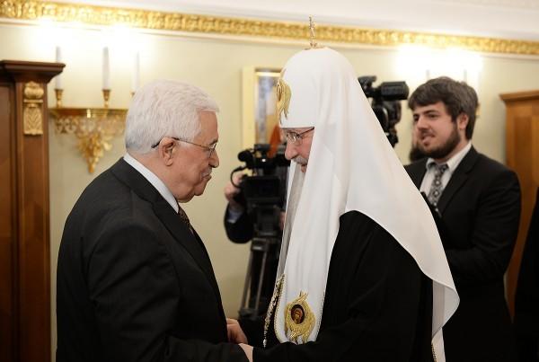 Патриарх Кирилл поддержал стремления палестинского народа обрести свою государственность