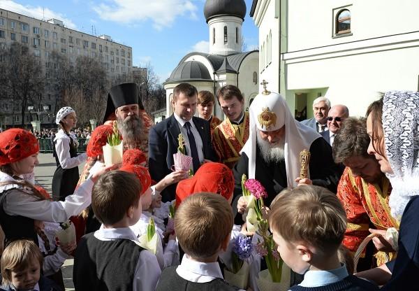 Патриарх Кирилл: Вера — это область человеческой жизни, которая имеет глобальное измерение