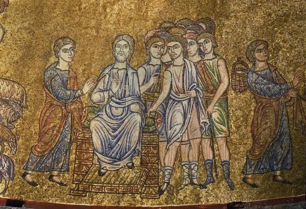 3.Иосиф рассказывает о своем сне отцу (Быт. 37. 9).