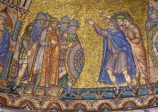 30.Народ Египетский вопиет к Иосифу о хлебе (голоде). (Быт. 41. 54-55).