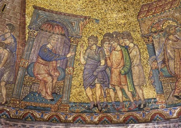 32.Иаков отправляет сыновей своих в Египет купить хлеба.(Быт. 42. 1-2).