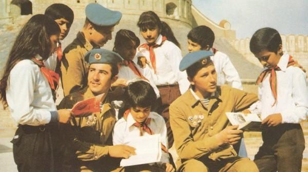 Воины-интернационалисты и пионеры