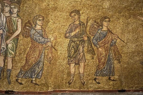 4.Некто указывает Иосифу путь в Дафан, где пасли стадо братья его (Быт. 37. 15-17).