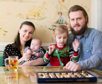 Матушка Любовь и священник Сергий Белобородовы