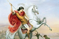К 70-летию Победы В Россию доставят мощи Георгия Победоносца со Святой горы Афон