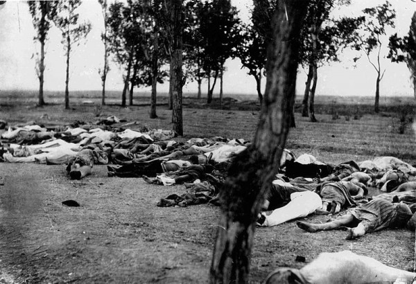 Армяне, убитые в Алеппо. Фото: Википедия