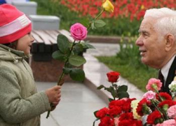 200 сирот поздравят московских ветеранов