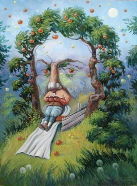 Шупляк Олег. Ньютон в Саду Идей
