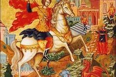 В Россию принесены мощи Георгия Победоносца со Святой Горы Афон