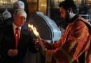 Президент России поздравил верующих с Пасхой
