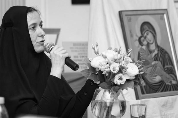 Монахиня Сергия.  Фото Романа Наумова