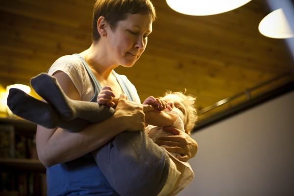 Если как следует собрать ребенка, мышечного тонуса не будет