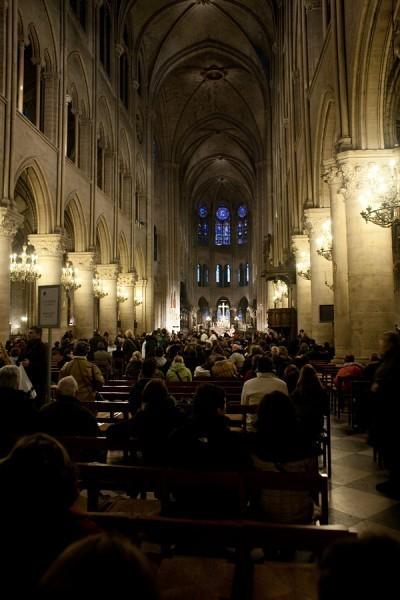 В соборе Парижской Богоматери