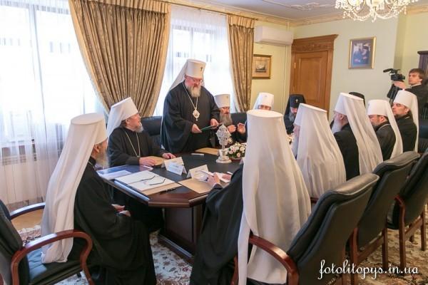 Священный Синод Украинской Православной Церкви избрал нового епископа