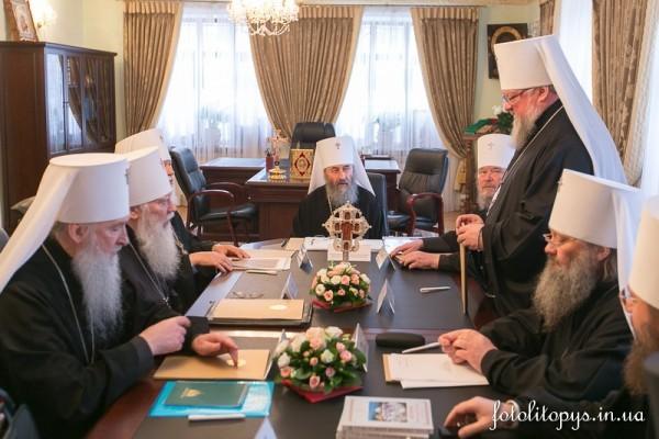 В Киеве началось очередное заседание Священного Синода Украинской Православной Церкви