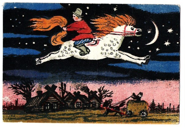 Иллюстрация Юрия Васнецова к Коньку-Горбунку