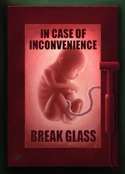 """""""Если вас это беспокоит - просто разбейте стекло"""" Источник: elandain.deviantart.com"""