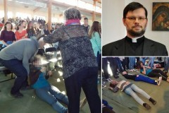 Тысяча польских подростков подверглись сеансу экзорцизма в молодежном религиозном лагере