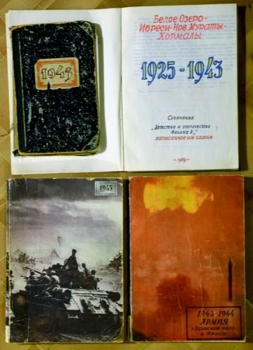 Военный дневник и мемуары