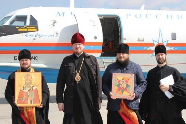 Митрополит Читинский и Петровск-Забайкальский Владимир молился о ниспослании дождя в небе