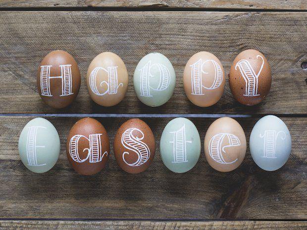 Внимание, яйца: 5 идей к Пасхе