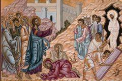 Церковь празднует воскрешение праведного Лазаря