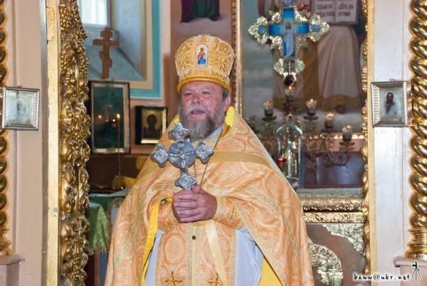 Священник из зоны отчуждения: Верховой огонь удалось сбить, дальше он не пойдет