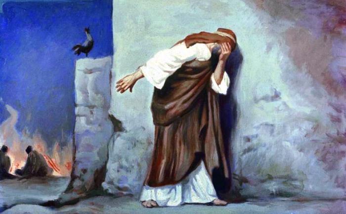 Отречение Петра — к чему приводит ложь во благо?