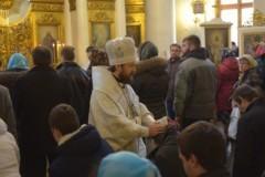 В Лазареву субботу 55 человек присягнули на верность Церкви