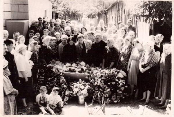 Смерть пожилого фронтовика