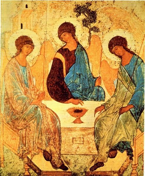 Троица преподобного Андрея Рублева