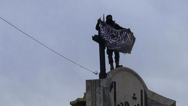 Фото: AP Photo/ Nusra Front on Twitter