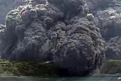В Японии извергается вулкан Кутиноэрабу