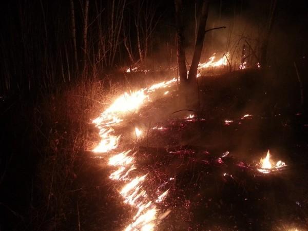 Как тушат пожары в Забайкалье:  У всех пересыхало во рту, но драгоценную воду берегли для распылителей