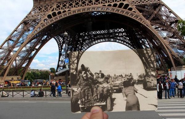 Париж, 1940-2015: связь времен (ФОТО)