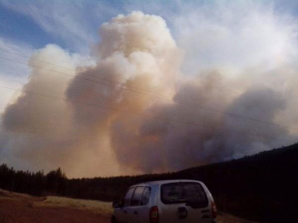 На ближайшие дни погодный прогноз по пожарам Забайкалье и Бурятии остается неблагоприятным