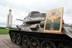 О богослужении с иконой Сталина – ответ Белгородской митрополии