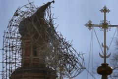 Новодевичий монастырь мог загореться из-за китайского фонарика