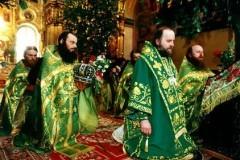 День Святой Троицы – Коленопреклоненные молитвы (с переводом на русский язык)