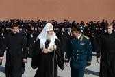 Патриарх Кирилл возложил венок к могиле Неизвестного солдата у Кремлевской стены (+ФОТО)