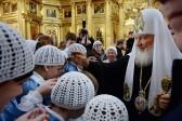 Патриарх Кирилл освятит стелу в память о Святейшем Патриархе Сергии