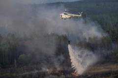 В Забайкалье во время праздников резко увеличилось число лесных пожаров